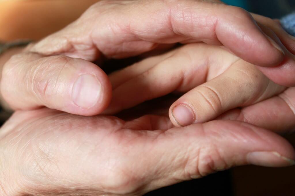 Berührung Hände Eutonie