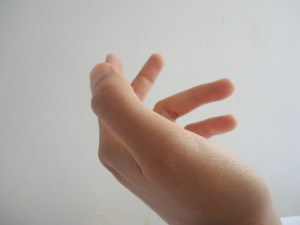 Hand spüren und bewegen Eutonie