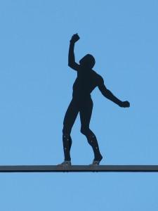Balance halten mit Eutonie
