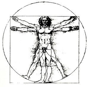 Da Vinci Mensch